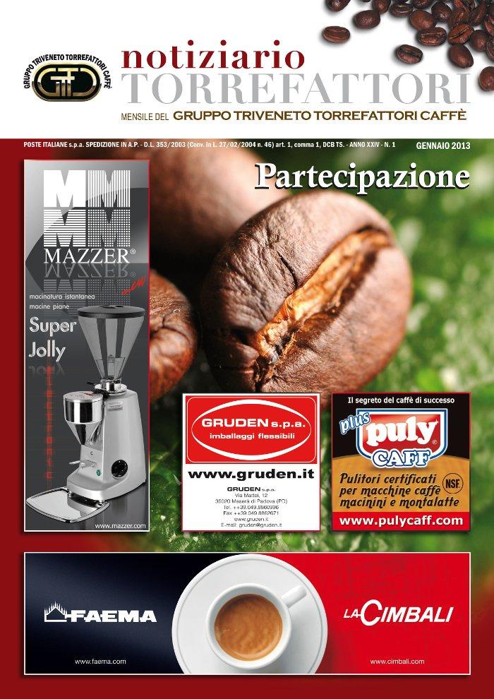 Notiziario Torrefattori Gennaio 2013 | G.I.T.C.