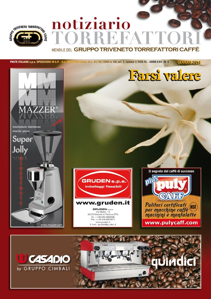 Notiziario Torrefattori Gennaio 2014 | G.I.T.C.