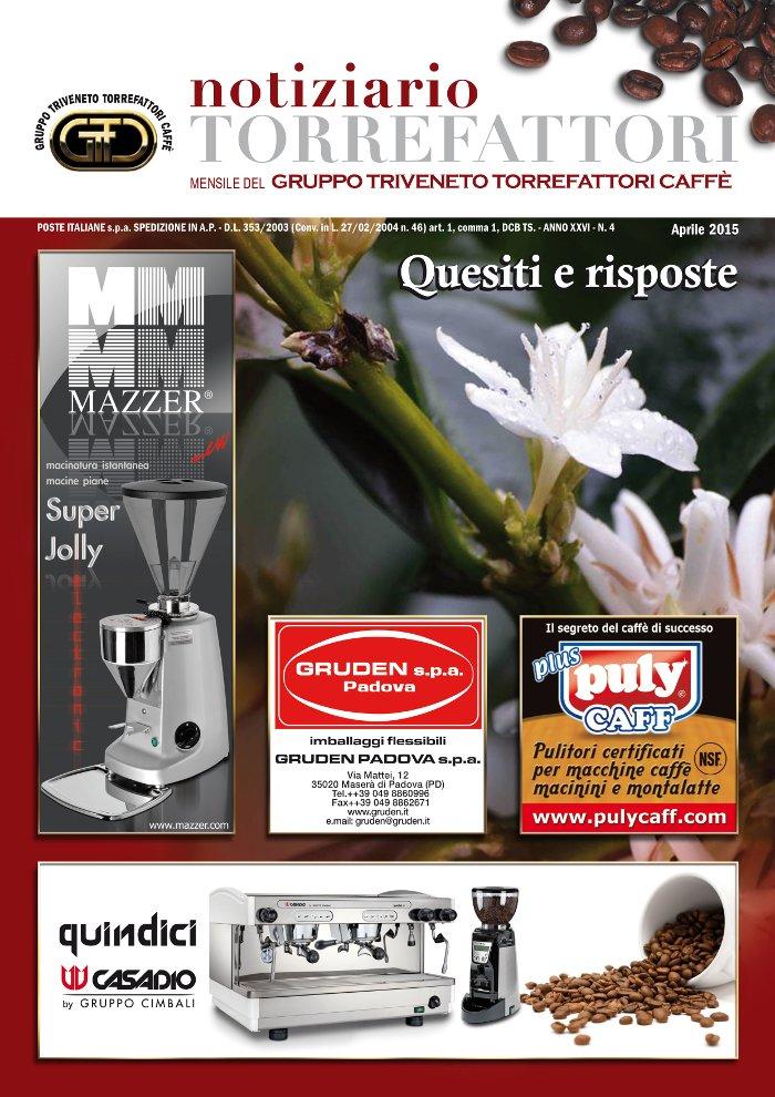 Notiziario Torrefattori Aprile 2015 | G.I.T.C.
