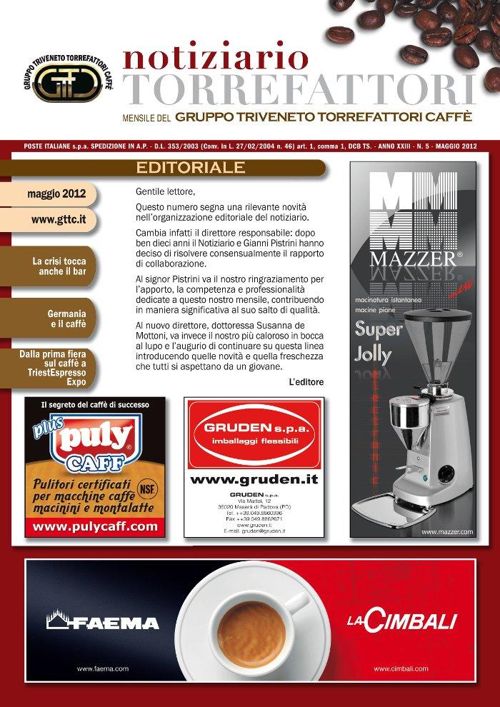 Notiziario Torrefattori Maggio 2012 | G.I.T.C.