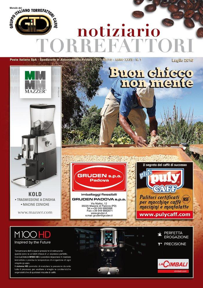 Notiziario Torrefattori Luglio 2016 | G.I.T.C.