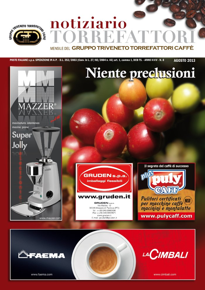 Notiziario Torrefattori Agosto 2013 | G.I.T.C.