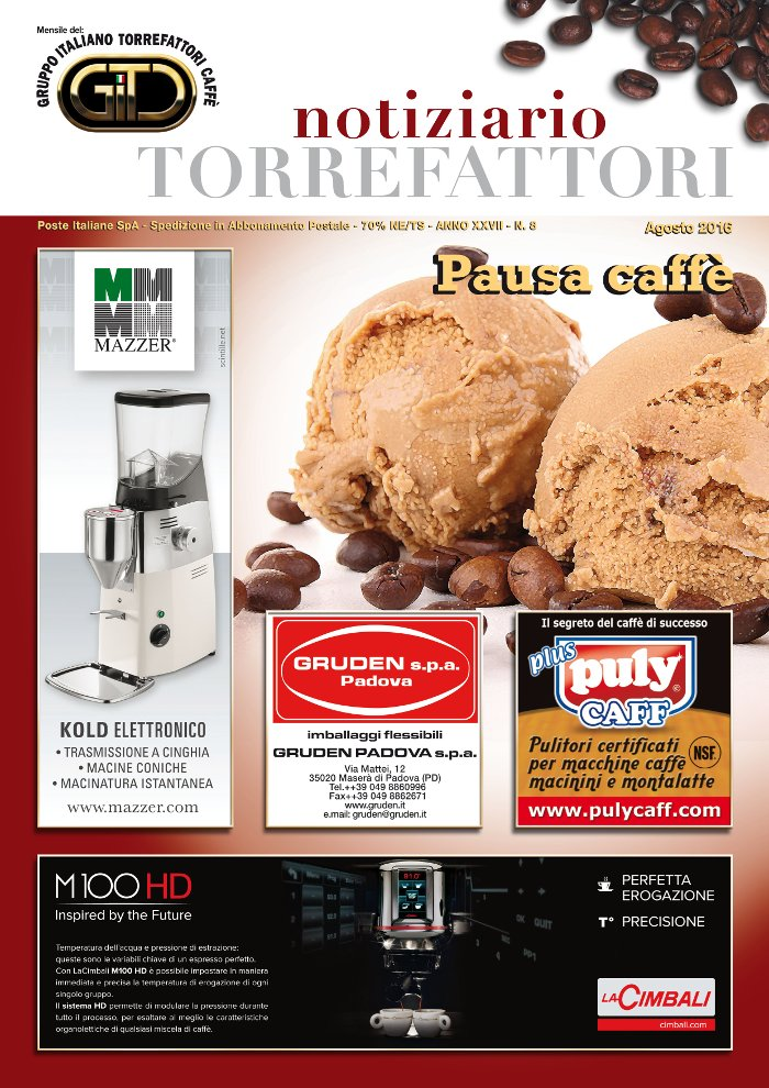 Notiziario Torrefattori Agosto 2016 | G.I.T.C.