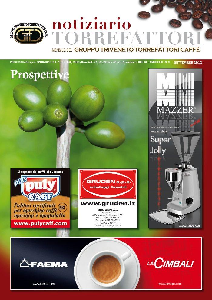 Notiziario Torrefattori Settembre 2012 | G.I.T.C.