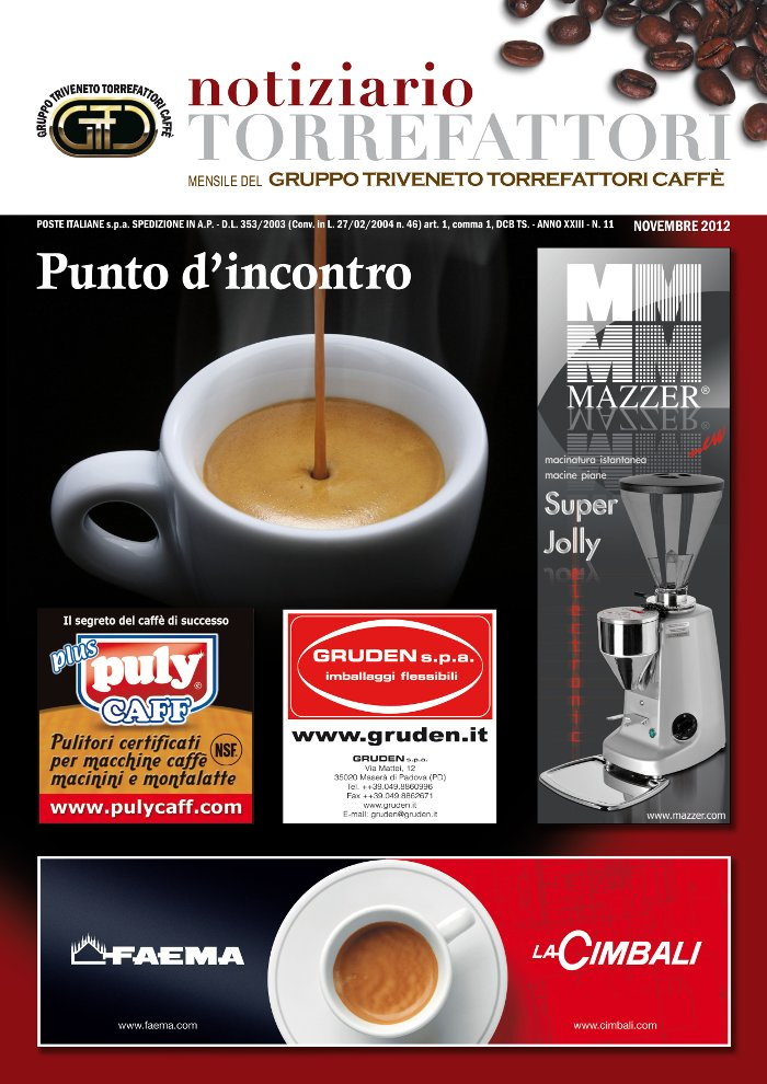 Notiziario Torrefattori Novembre 2012 | G.I.T.C.