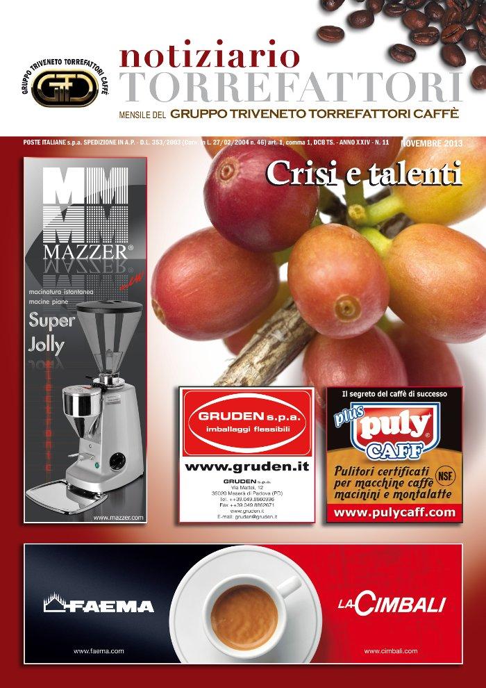 Notiziario Torrefattori Novembre 2013 | G.I.T.C.