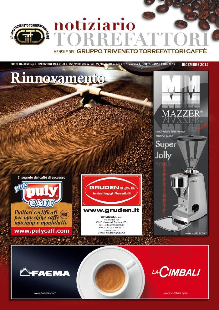 Notiziario Torrefattori Dicembre 2012 | G.I.T.C.