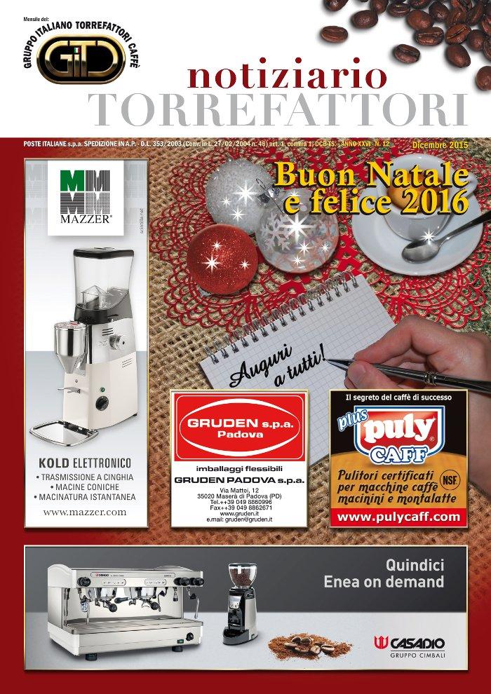 Notiziario Torrefattori Dicembre 2015 | G.I.T.C.